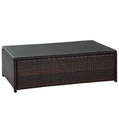 Crosley Palm Harbor Wicker Patio Coffee Table