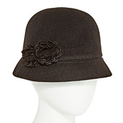 August Hat Co. Inc. Double Flower Cloche Hat