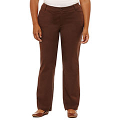 St. John's Bay® Bi-Stretch Pants-Plus (32