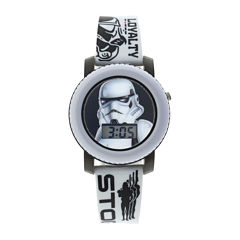 Star Wars® Stormtrooper Kids Flashing and Sound Digital Watch