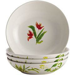 BonJour® Meadow Rooster Set of 4 Fruit Bowls