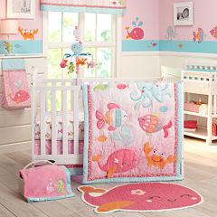 Carter's® 4-pc. Sea Crib Bedding Set - One Size