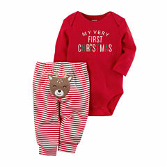 Carter's 2-pc. Stripe Pant Set Baby Unisex