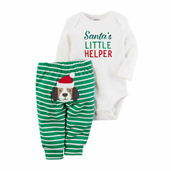 Carter's Christmas 2-pc. Pant Set Baby Unisex