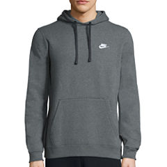 Nike® Club Solid Pullover Cotton Hoodie