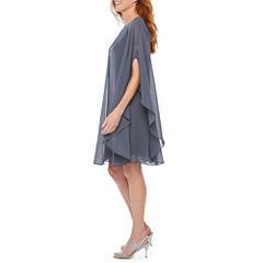 S. L. Fashions Sleeveless Sheath Dress