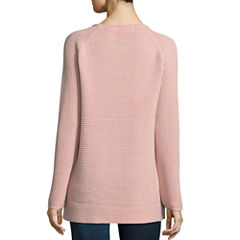 a.n.a Long Sleeve Pullover Sweater