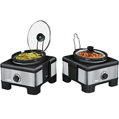 Bella™ Linkable Serve & Store Double Slow Cooker System