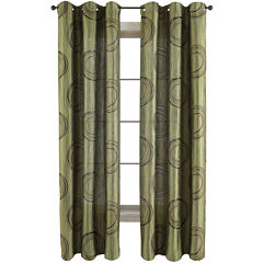 Studio™ Focus Grommet-Top Curtain Panel