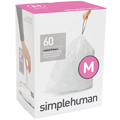 simplehuman® Custom Fit Trash Can Liners Code M - 60-Pack