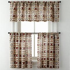 New Mexico Rod-Pocket Kitchen Curtains