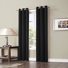 Sun Zero™ Evan Blackout Grommet-Top Curtain Panel