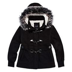 Me Jane Midweight Fleece Jacket-Preschool Girls