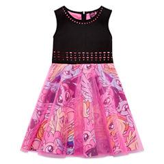 Sleeveless My Little Pony A-Line Dress - Big Kid Girls