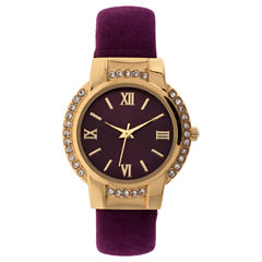 Mixit Womens Gold Tone Bracelet Watch-Jcp3009cg