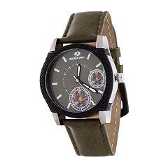Mossy Oak Mens Green Bracelet Watch-Mow081ox-Ol