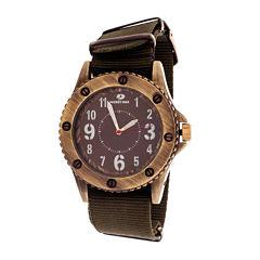 Mossy Oak Mens Green Bracelet Watch-Mow083ox-Ol