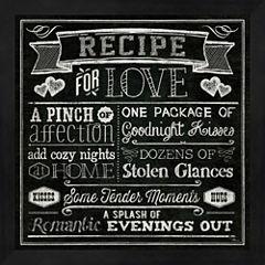 Thoughtful Recipes III Framed Wall Art