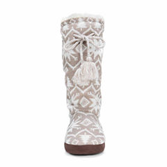 Muk Luks Tall Grace Tie Boot