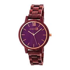 Earth Wood Pike Unisex Purple Bracelet Watch-Ethew5205