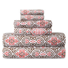JCPenney Home Madrid 6-pc Towel Set