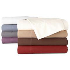 Royal Velvet® 400tc Pinstripe Egyptian Cotton Sateen Sheet Set
