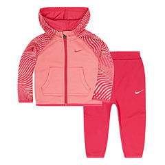 Nike 2-pc. Pant Set Baby Girls