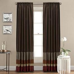 Lush Decor Iman Curtain Panel