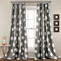 Lush Decor Ovation 2-Pack Room Darkening Curtain Panel