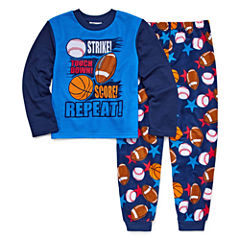 All Sport 2 Piece Pajama Set - Boys Big Brother 4-20