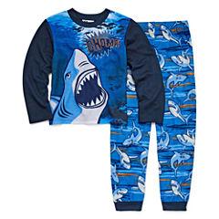 Shark 2 Piece Pajama Set - Boys Big Brother 4-20