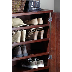 Northbeam Wooden Shoe Cabinet