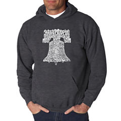 Los Angeles Pop Art Liberty Bell Logo Hoodie
