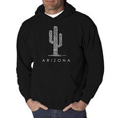Los Angeles Pop Art Arizona Cities Logo Hoodie