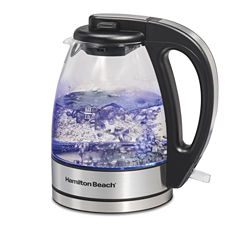Hamilton Beach Compact Glass Kettle