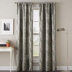 Calypso Rod-Pocket Curtain Panel