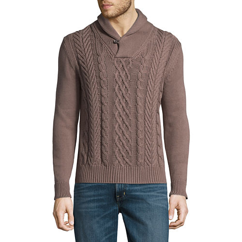 St. John's Bay Long Sleeve Pullover Sweater