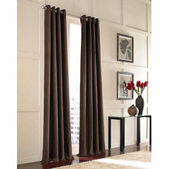 Messina Velvet Grommet-Top Curtain Panel