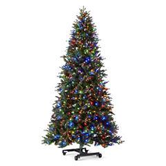 7 1/2 Foot Aspen Grow & Stow Pre-Lit Christmas Tree