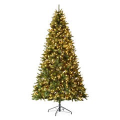 North Pole Trading Co. 9 Foot Linden Pre-Lit Christmas Tree