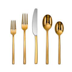Cambridge® Everyday Beacon 20-pc. Gold-Plated Flatware Set