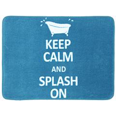 Mohawk Home® Keep Calm and Splash On Bath Rug