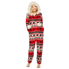 Fairisle Print One Piece Pajama