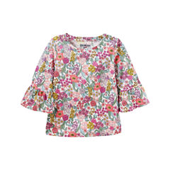 Oshkosh Short Sleeve Blouse - Preschool Girls