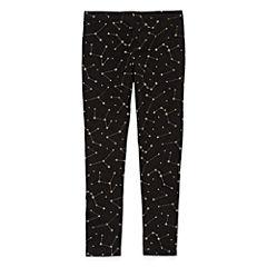 Okie Dokie Pattern Knit Leggings - Toddler Girls