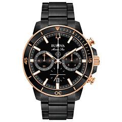 Bulova Mens Black Bracelet Watch-98b302