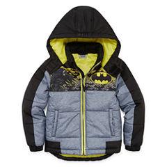 Batman Puffer Jacket - Preschool Boys