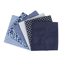 Collection by Michael Strahan 6-pk. Cotton Handkerchief Set