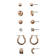 Sensitive Ears 6 Pair Brass Earring Sets