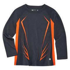 Xersion Long Sleeve Crew Neck T-Shirt-Preschool Boys